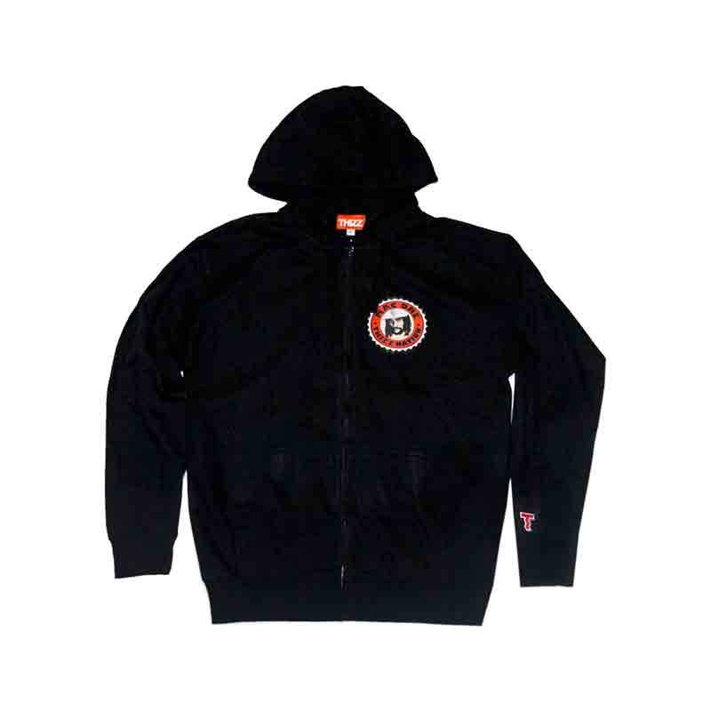 Thizz Thizz Mac Dre Zip Up Hoodie