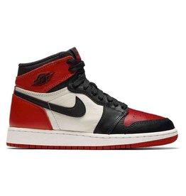 """Jordan Jordan Retro 1 """"Bred Toe """"GS"""