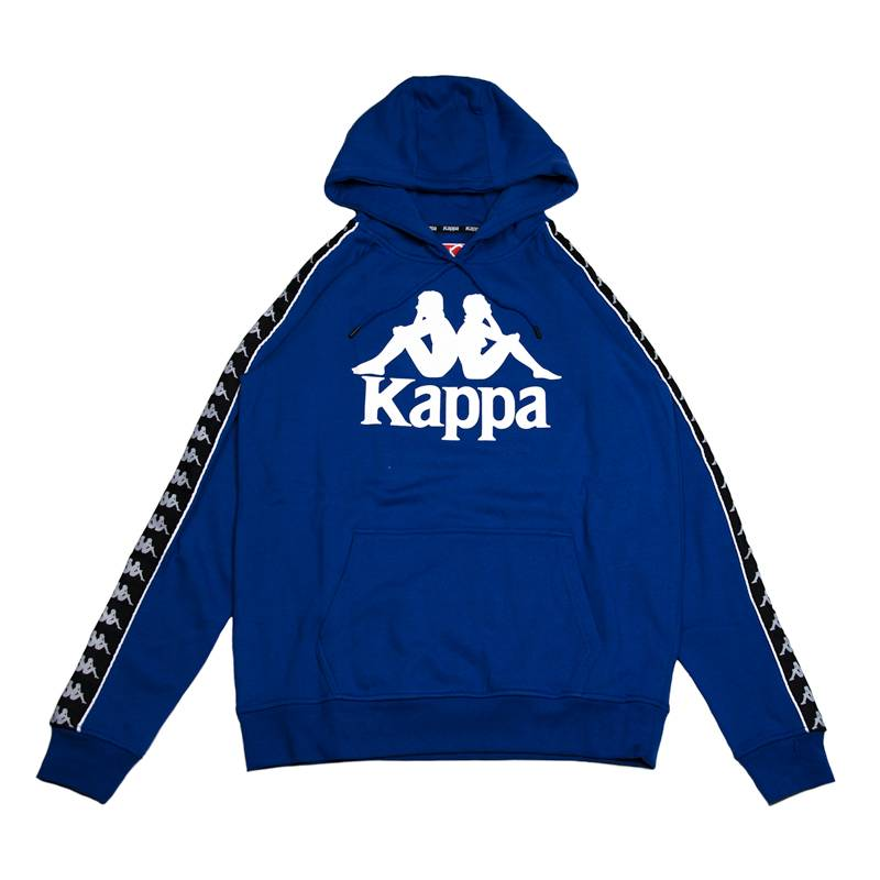 Logo Sweatshirt - Blue Kappa Big Sale TxzklPBWPr