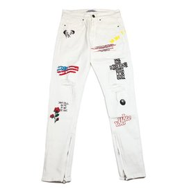 Embellish NYC Embellish Paint N Roses Denim