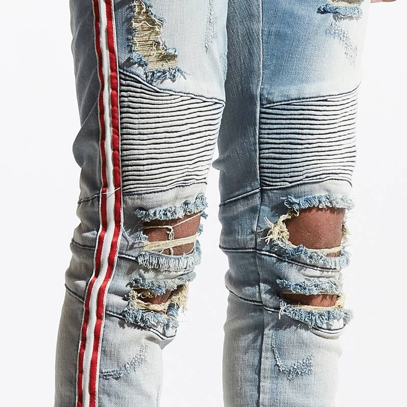 Embellish NYC Embellish Tomme BIker Denim