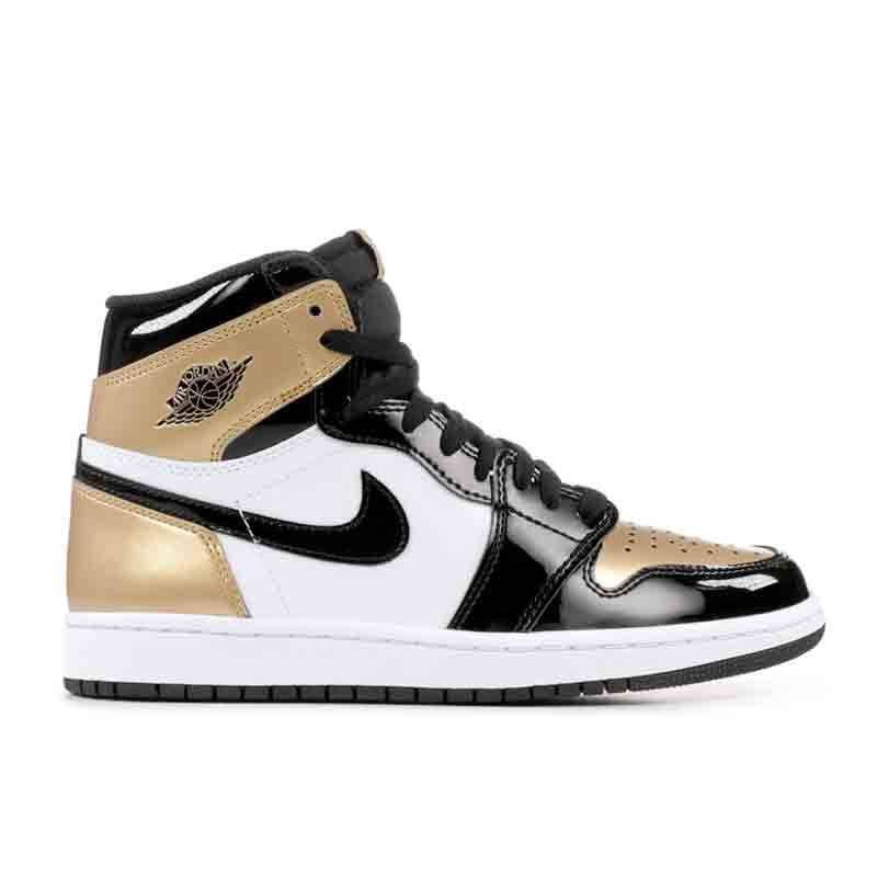 "Jordan Jordan Retro 1 ""Gold Toe"""