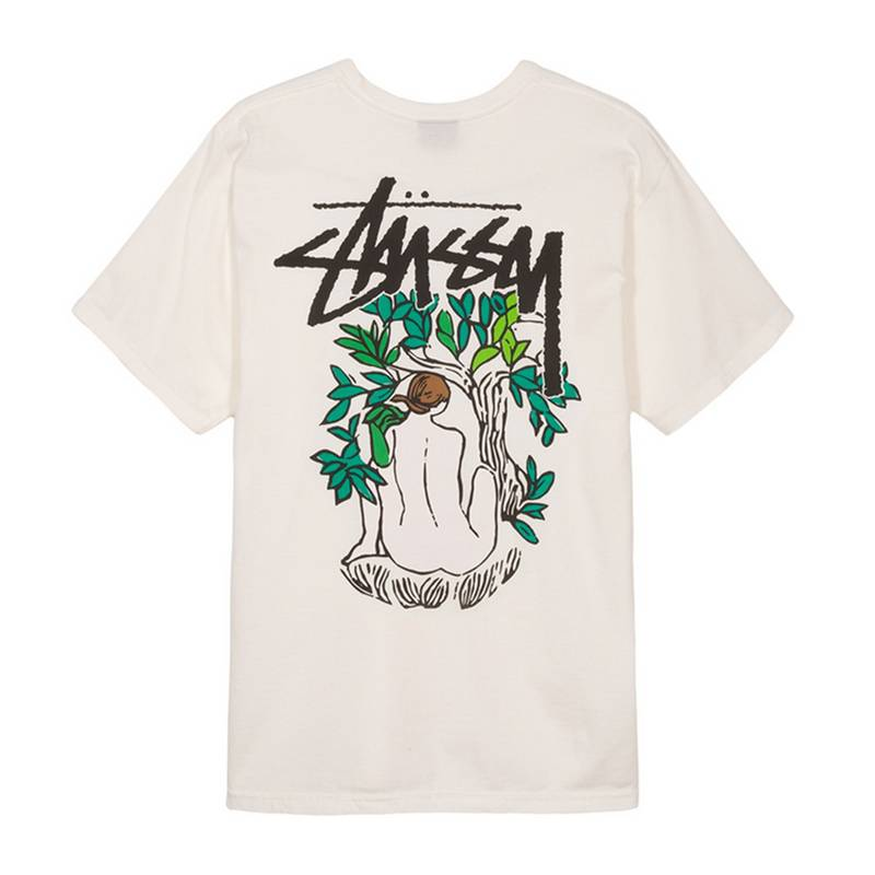 Stussy Stussy Forces Of Nature Pig Dyed Tee