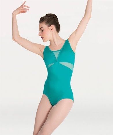 Body Wrappers BW P1008 Mesh Insert Leotard