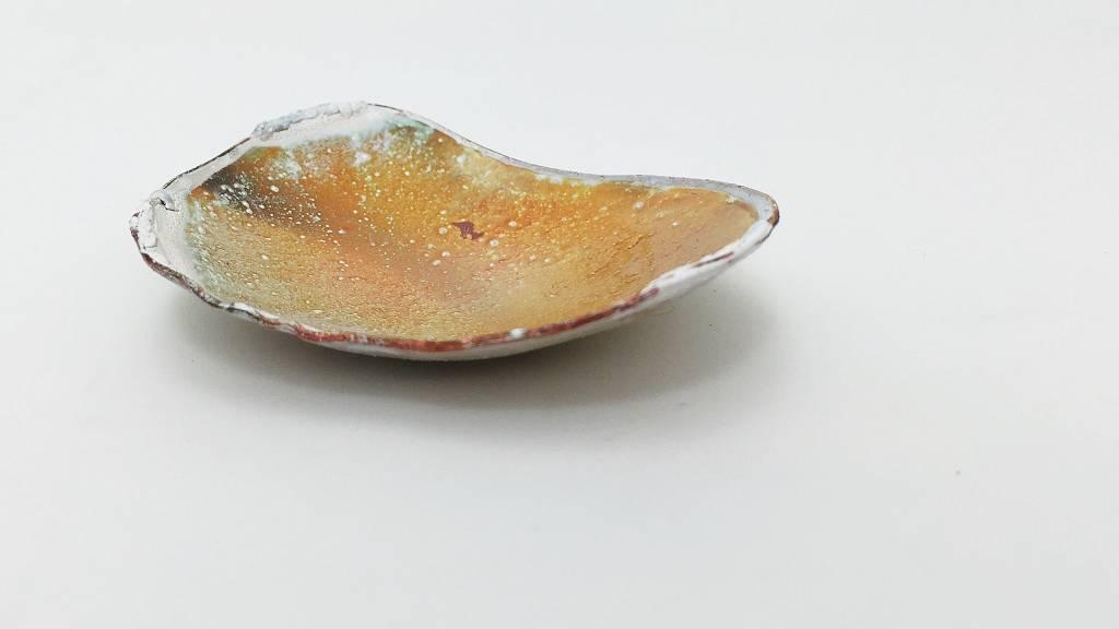 Ginger Meek Allen   Art Jewelry Receiving Bowl #32