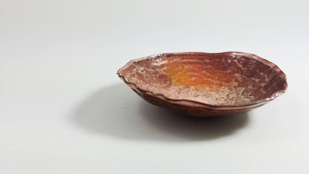 Ginger Meek Allen | Art Jewelry Receiving Bowl # 8