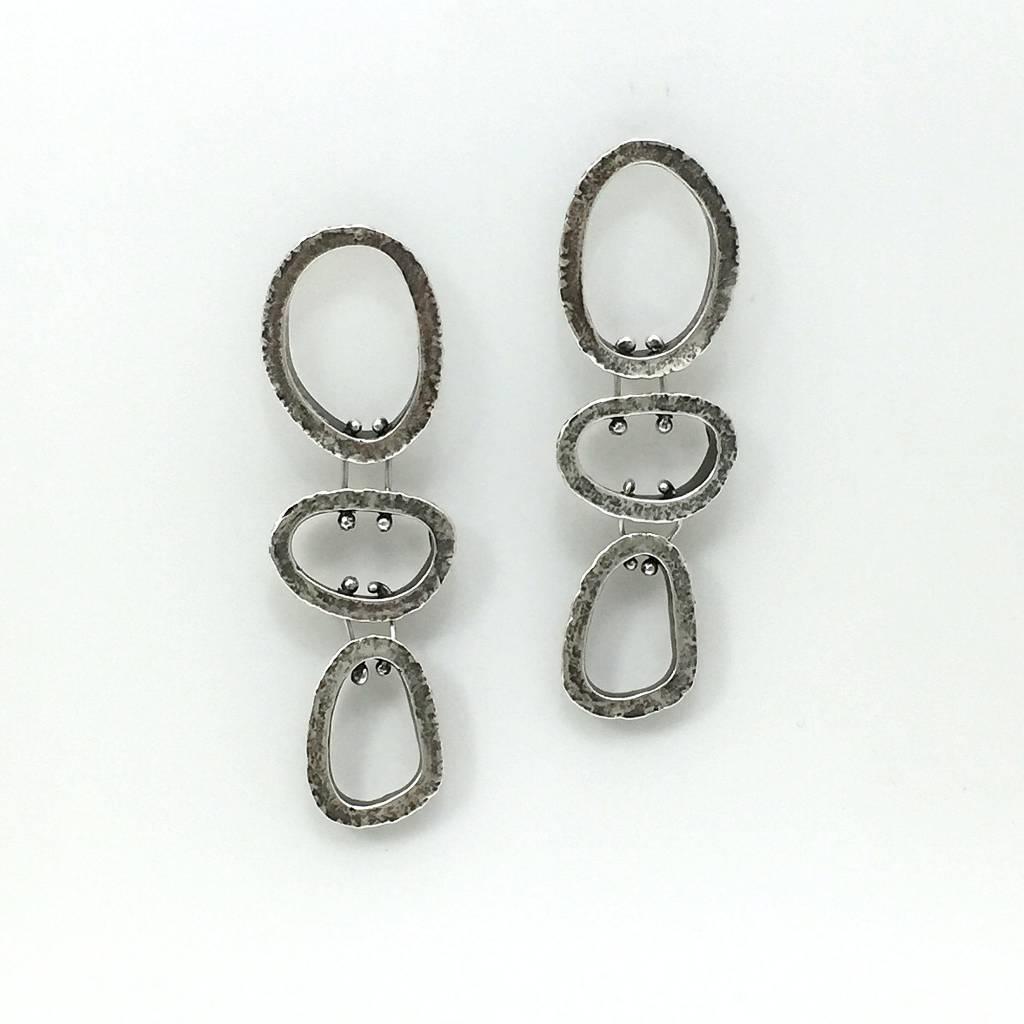 Elevation Series Triplet Earrings