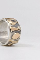 Custom Jewelry by Ginger Meek Allen Guiding Principle Ring (Word of the Year)