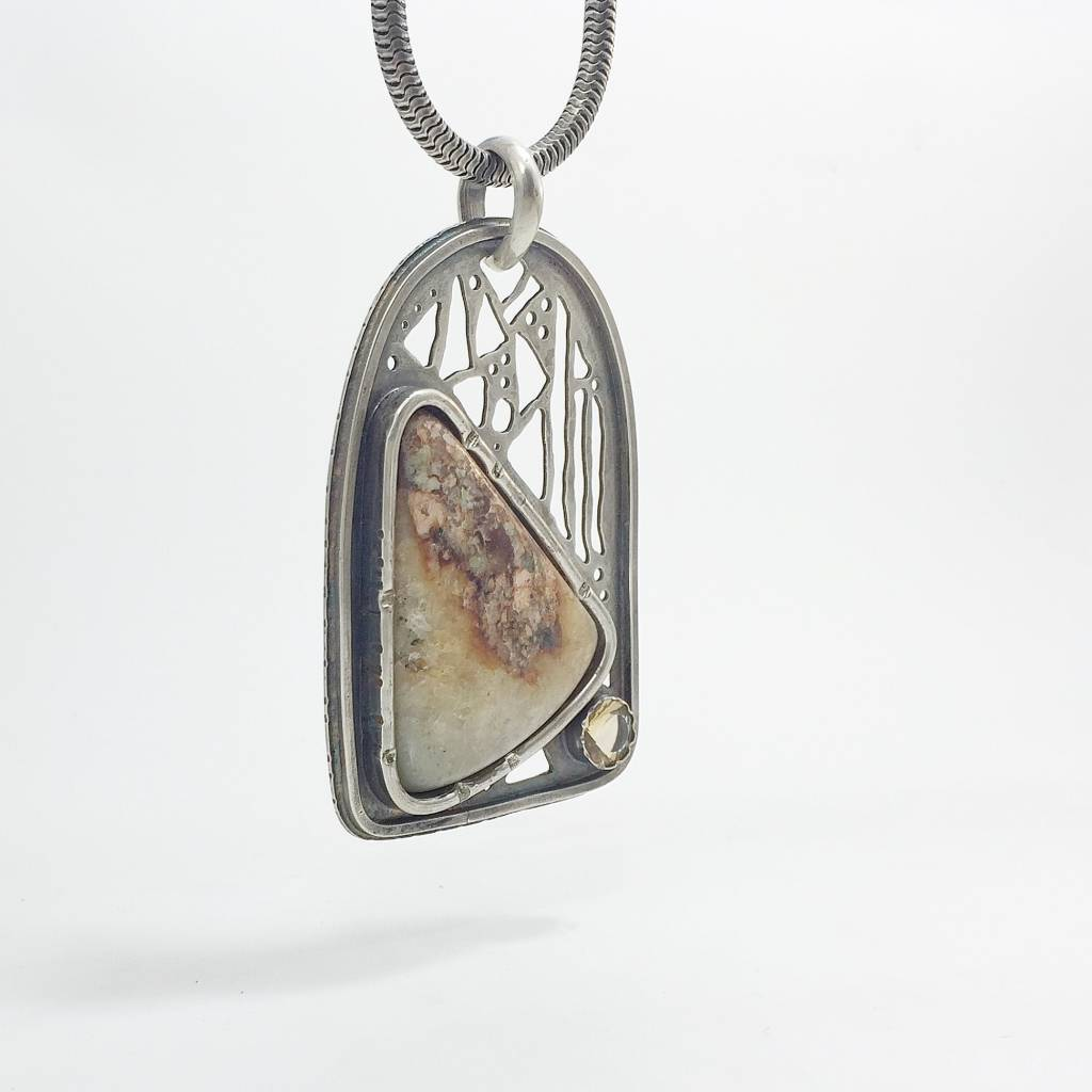 Earth Patterns Stonehouse Cathedral Necklace