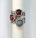 Custom Jewelry by Ginger Meek Allen Stacking Power Rings