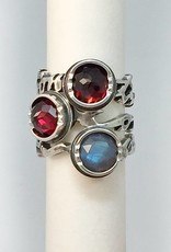 Custom Jewelry by Ginger Meek Allen Stacking Power Rings