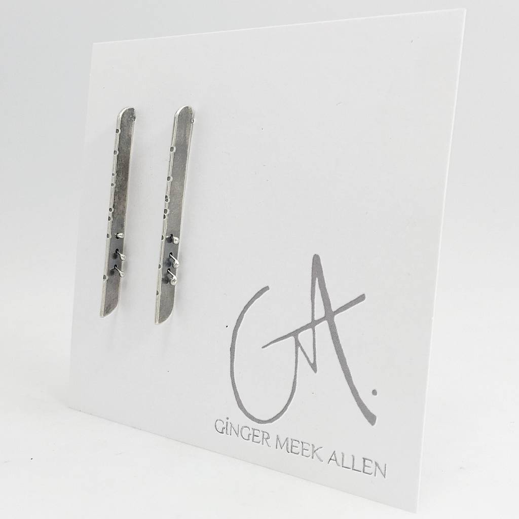 Musical Abstracts Legato Earrings