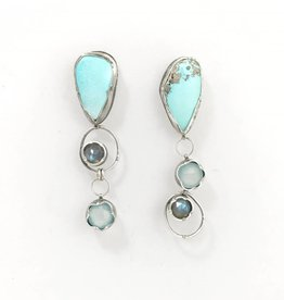 Eclectic Ethos Soft Sky Earrings