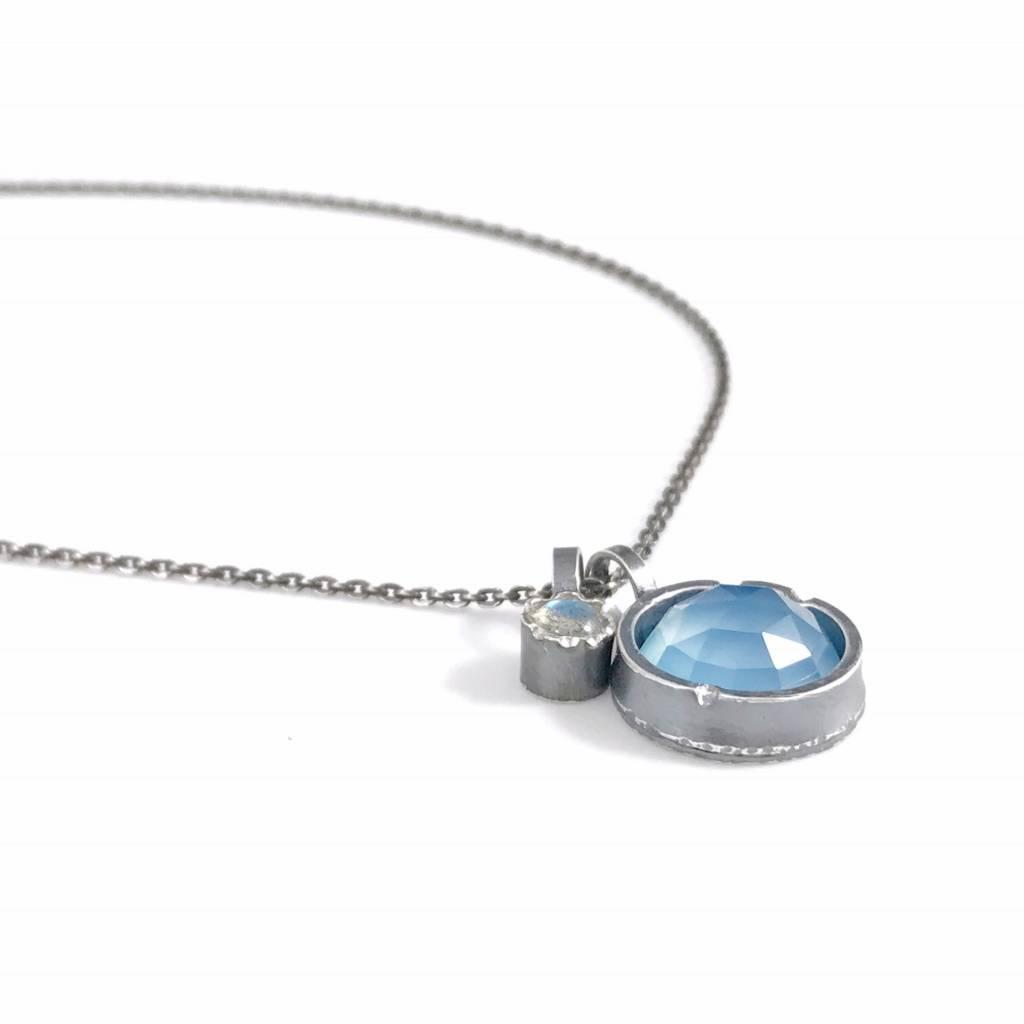 Eclectic Ethos Eclectic Ethos Necklace - Blue & Blue
