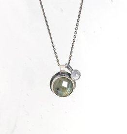 Eclectic Ethos Eclectic Ethos Guide Necklace - Green & Grey