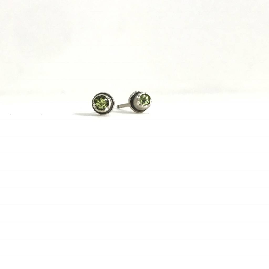 Eclectic Ethos Tiny Peridot Eclectic Ethos Studs
