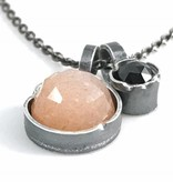 Eclectic Ethos Eclectic Ethos Guide Necklace - Peach & Black