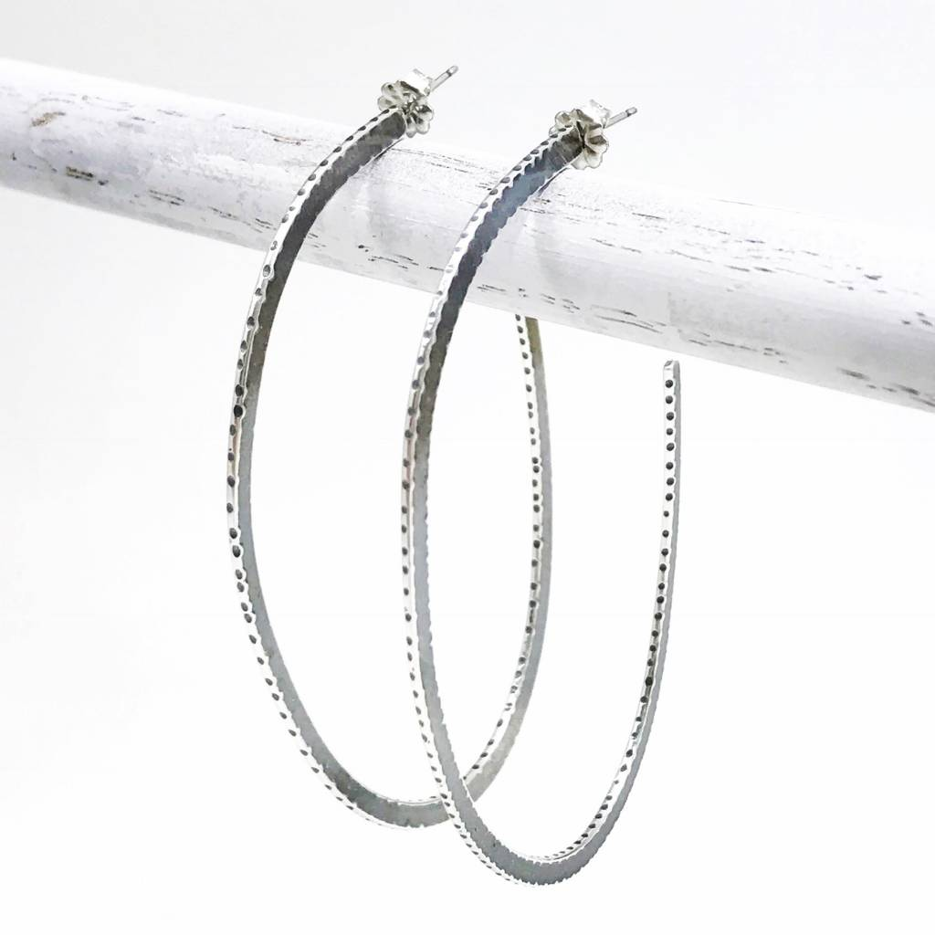Simplicity Sliced Forged Edge Hoops