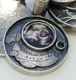 Custom Jewelry by Ginger Meek Allen Family Locket (customized)