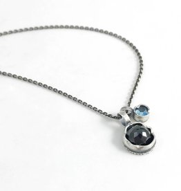 Eclectic Ethos Eclectic Ethos Guide Necklace - Black & Blue