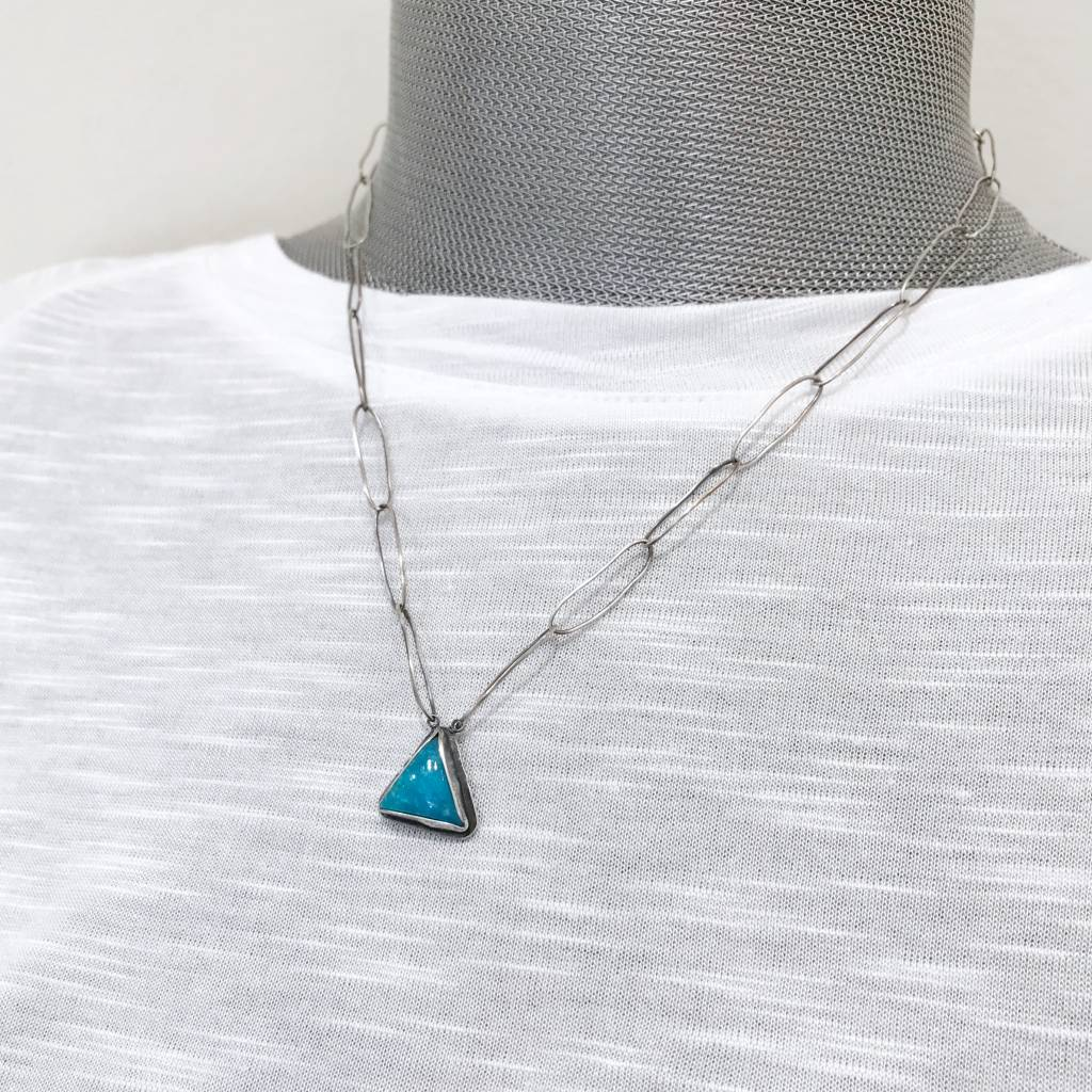 Musings Ease Necklace with Turquoise - 1