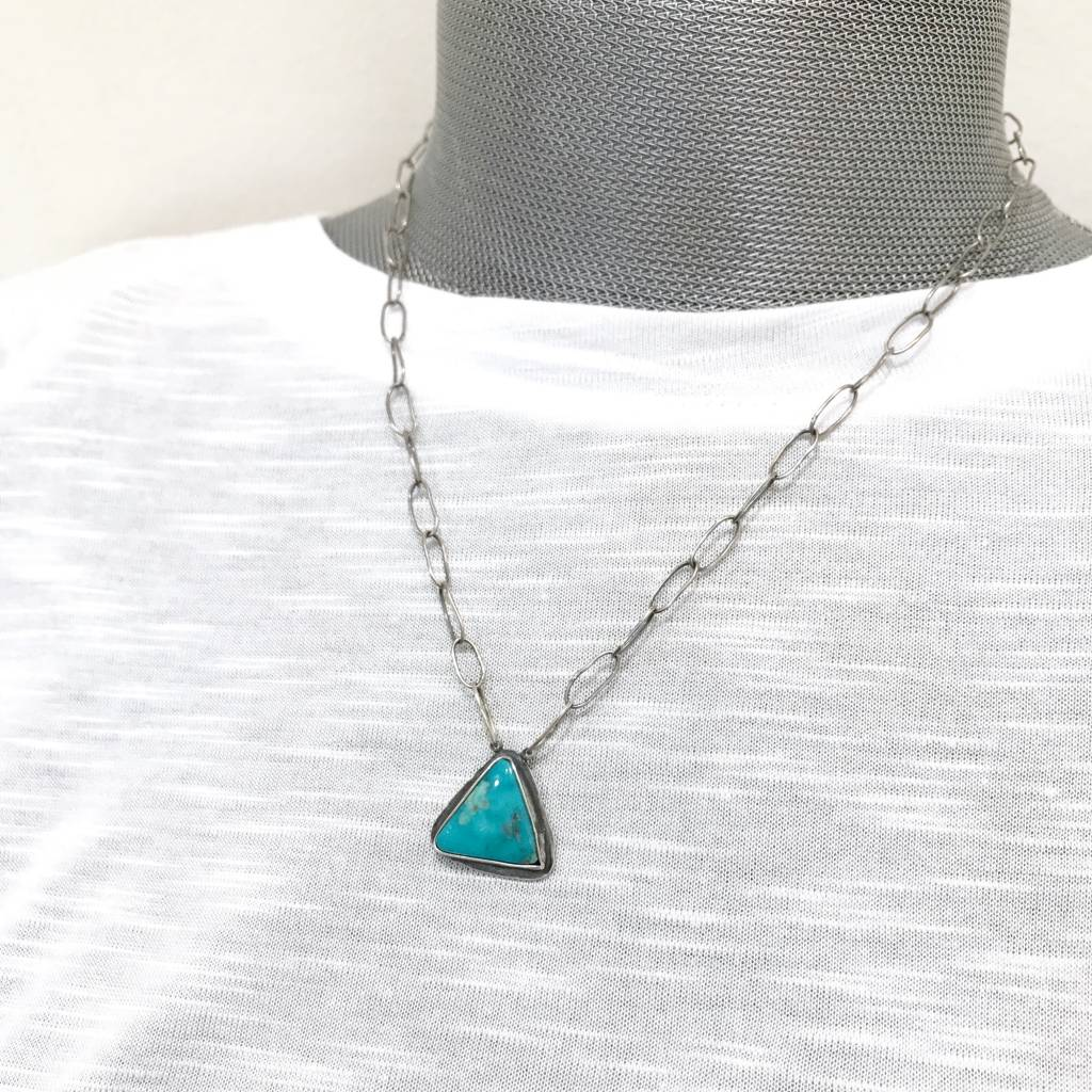 Musings Ease Necklace with Turquoise - 2