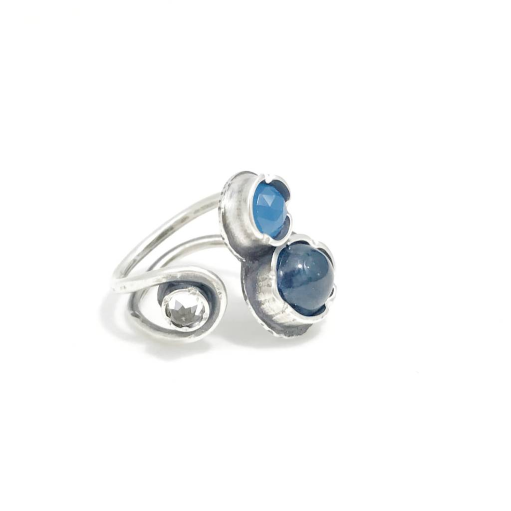 Eclectic Ethos Blue Day Ring - Small