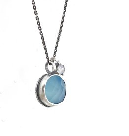 Eclectic Ethos Eclectic Ethos Guide Necklace - Blue & Grey