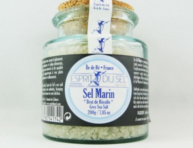 Biochala sel gris bocal verre 200gr