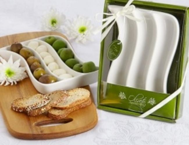 Assiette pour olives