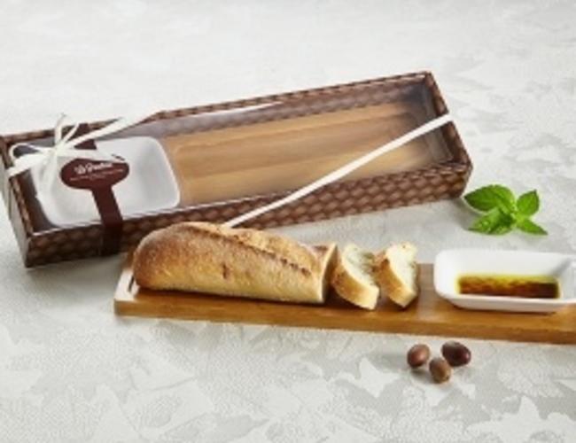 La panetteria assiette pain et huile