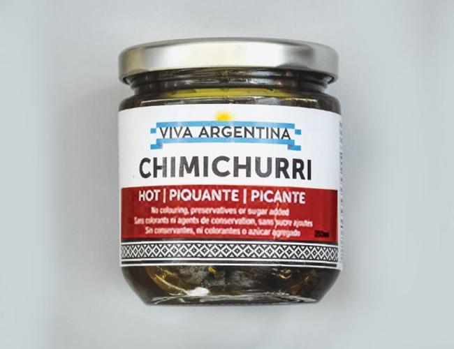 Chimichurri sauce piquante 250ml
