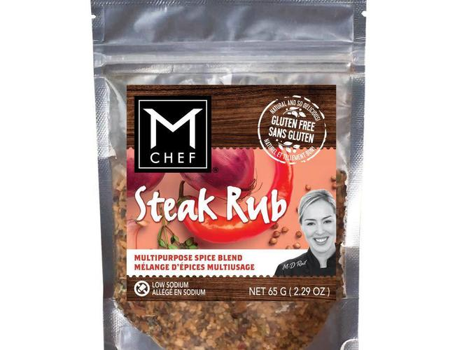 Mchef Melange d'epices multiusage Steak rub 54g