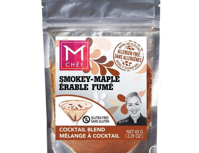 Mchef Melange d'epices multiusage Érable fumé BBQ FUMÉ AU WHISKEY / Bacon (vegan) 54g