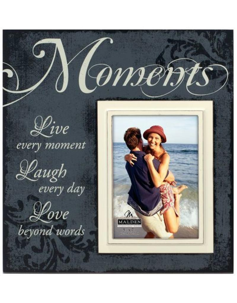Malden 5x7 Moments Scripts Frame - Gifts and More