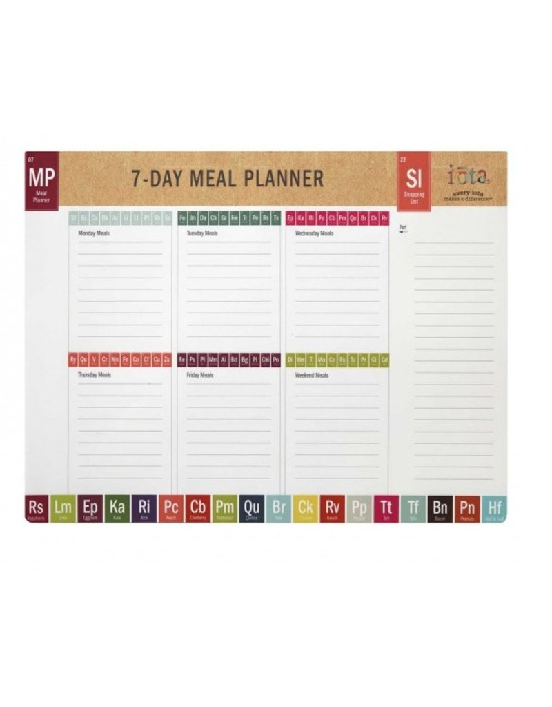 C r gibson periodic table of yum menu planner gifts and more c r gibson periodic table of yum menu planner urtaz Gallery