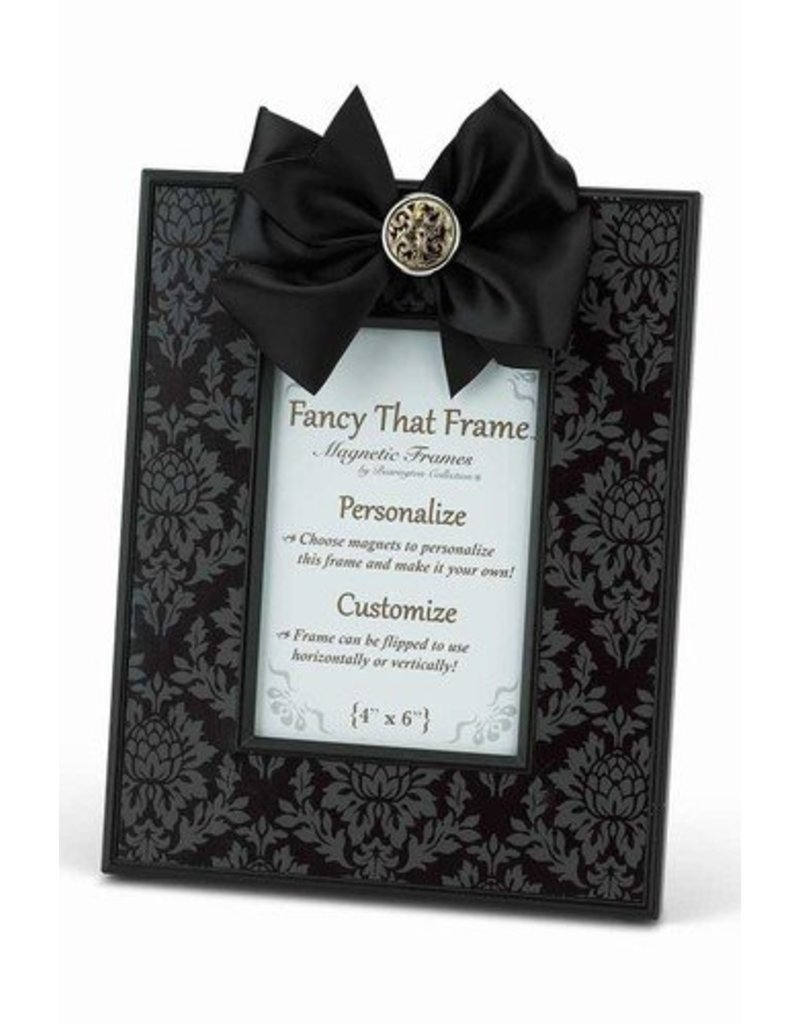 Black Damask Frame - Gifts and More