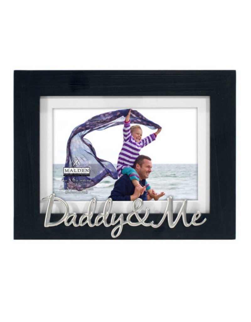 Malden 4x6/5x7 Daddy & Me Black Frame - Gifts and More