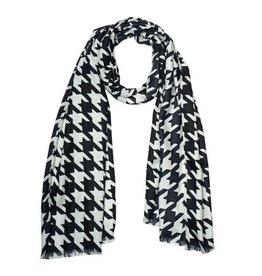 anna nova anna nova black white scarf