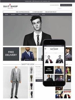 Theme Dresser Responsive Suits