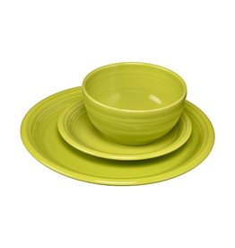 3 pc Bistro Place Setting Lemongrass