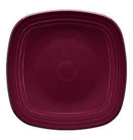 """Square Salad Plate 7 1/2"""" Claret"""