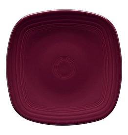 "Square Luncheon Plate 9 1/4"" Claret"