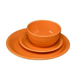 3 pc Bistro Place Setting Tangerine