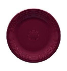 """Dinner Plate 10 1/2"""" Claret"""