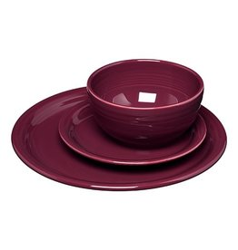 3 pc Bistro Place Setting Claret