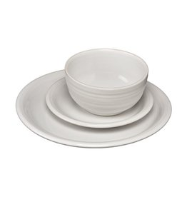 3 pc Bistro Place Setting White