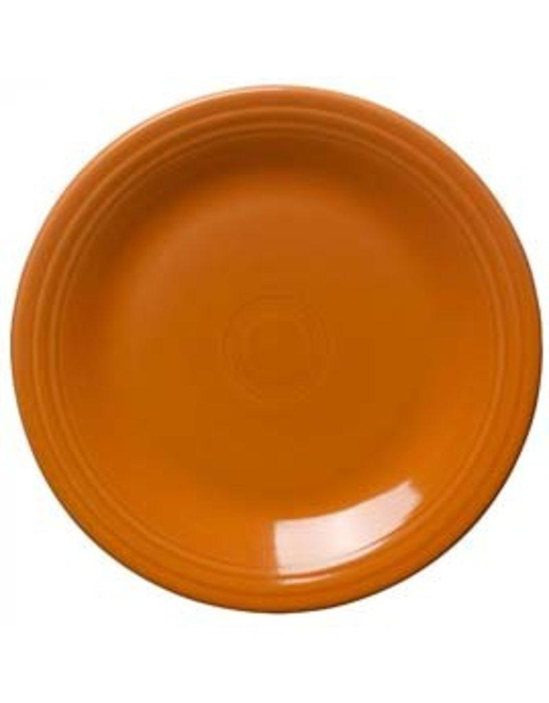"""Dinner Plate 10 1/2"""" Tangerine"""