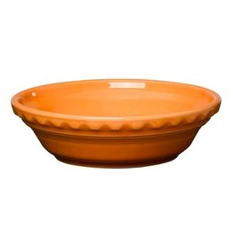 "Small Pie Baker 6 3/8"" Tangerine"
