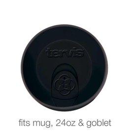 Tervis Black Travel Lid 24 oz